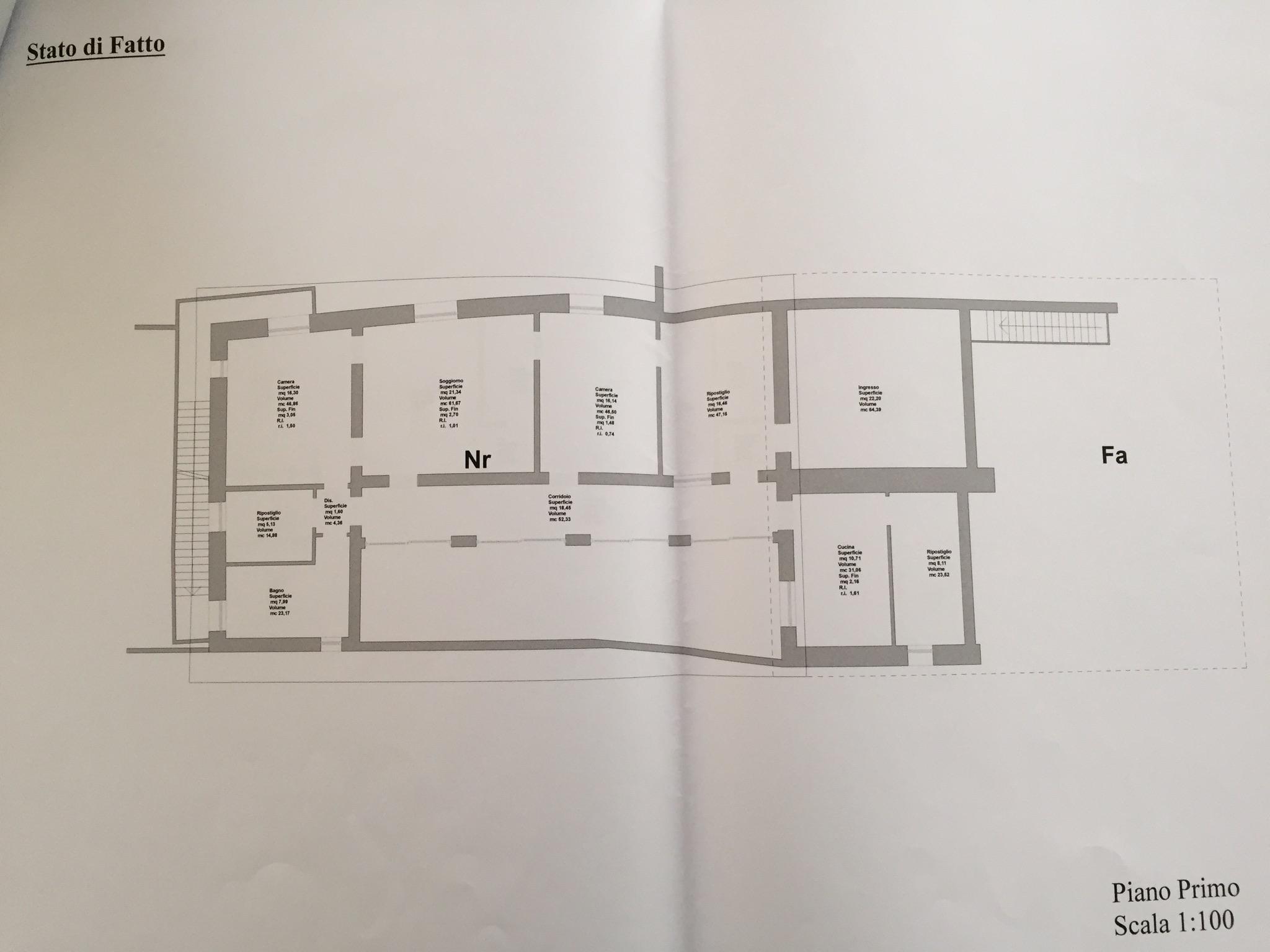 VENEZIA DORSODURO – Appartamento 300mq frazionabile in 3 unità