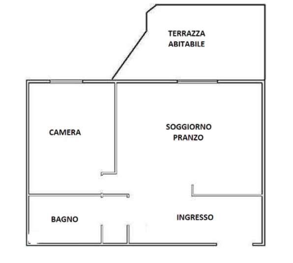 MESTRE CENTRO – Appartamento con terrazza abitabile